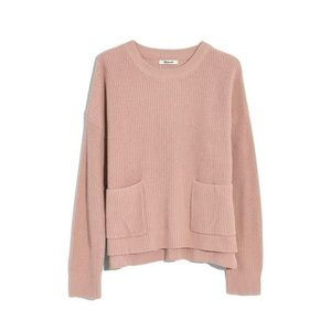MADEWELL Patch Pocket Pullover Knit Sweater